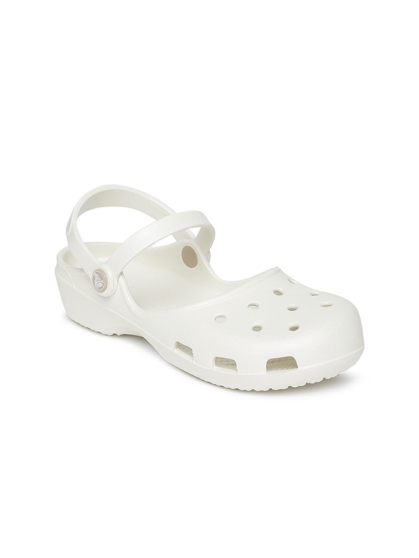 a1ece565f4c427 Women White Flip Flops - Buy Women White Flip Flops online in India