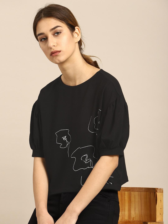 16fd61b2f4fb9 Tops - Buy Designer Tops for Girls   Women Online
