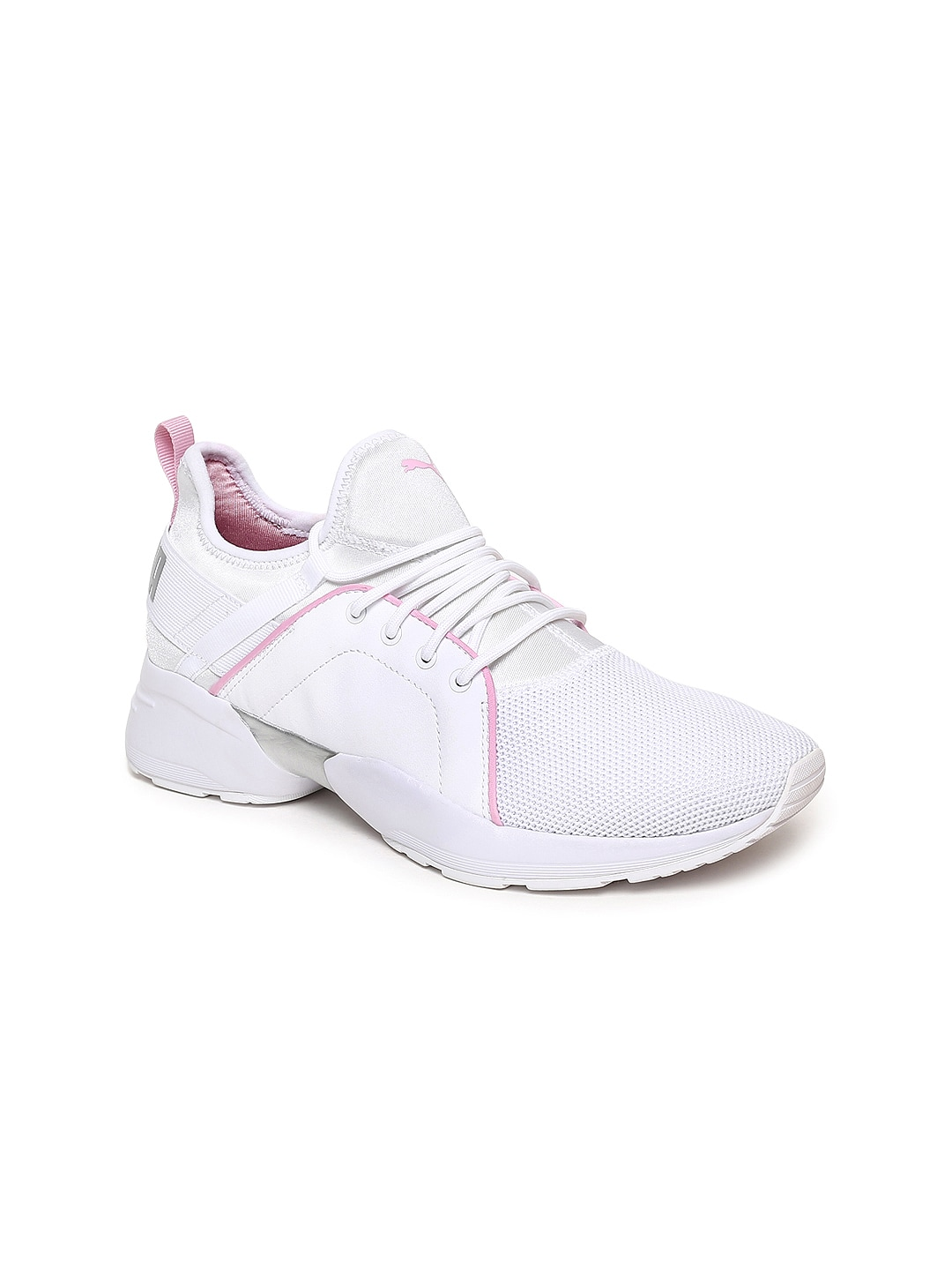 4454dca0b48f Puma Women White And Blue Casual Shoes - Buy Puma Women White And Blue  Casual Shoes online in India