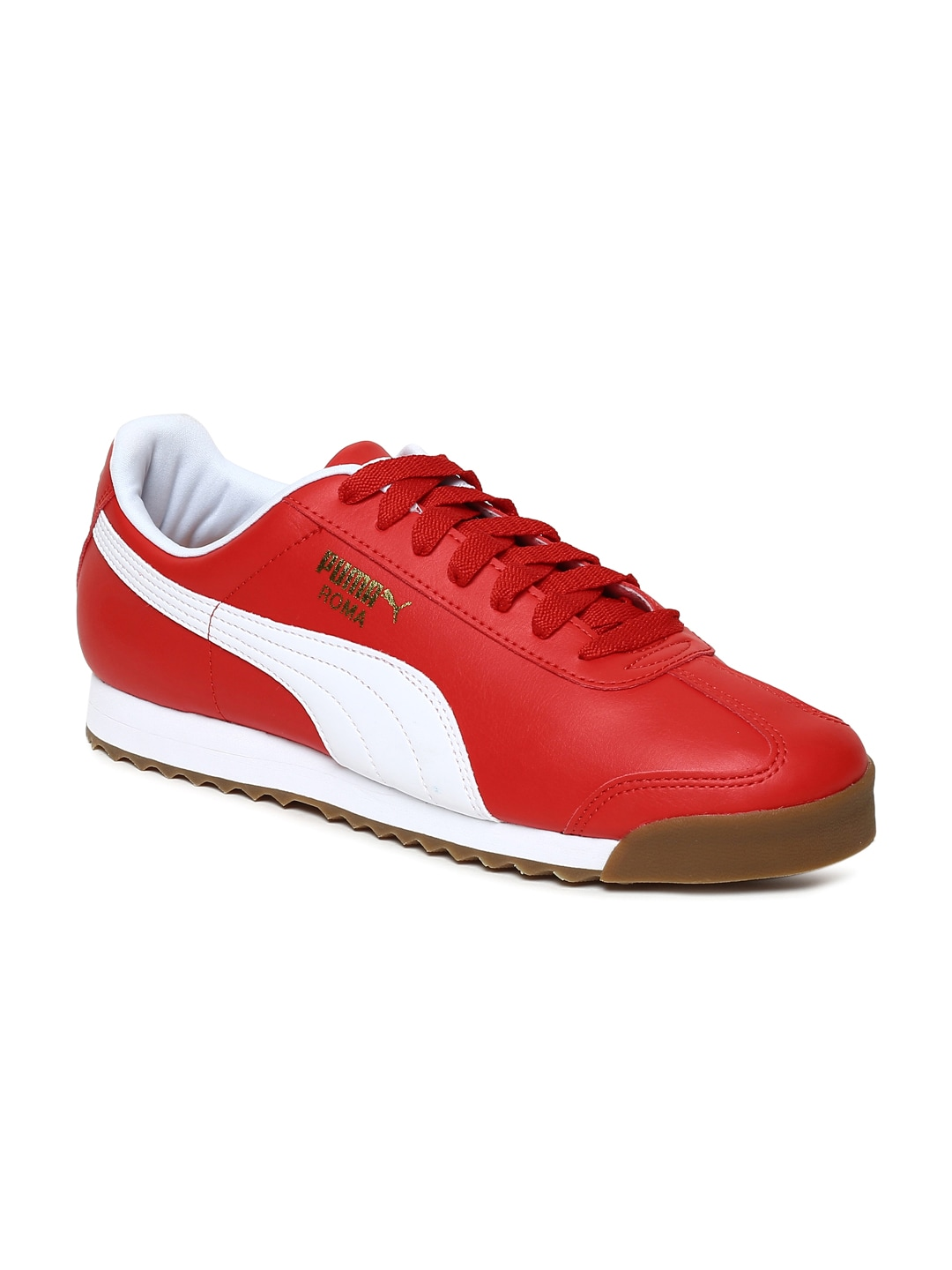 Puma Men White Leather Shoes - Buy Puma Men White Leather Shoes online in  India 590dcf4e1