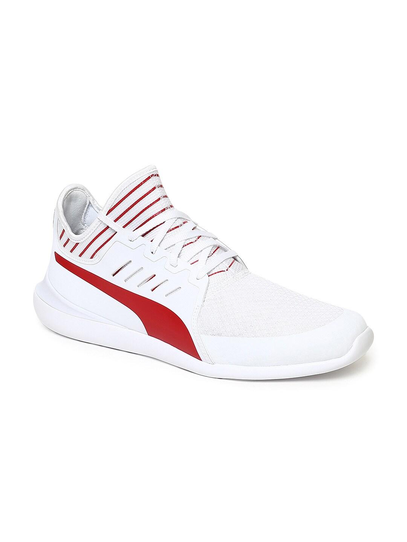 ad3e43d558 Puma Men White SF Evo Cat Mace Sneakers