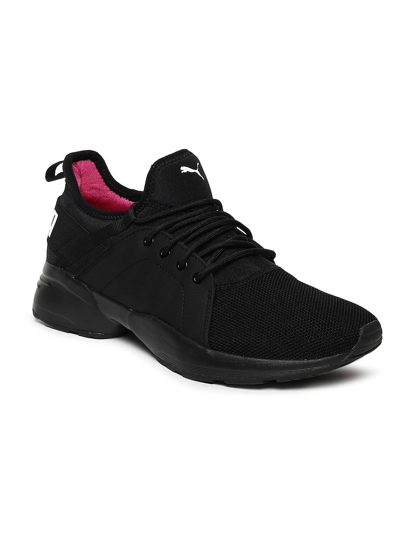 4328e686 Puma Women Black Sirena Sneakers