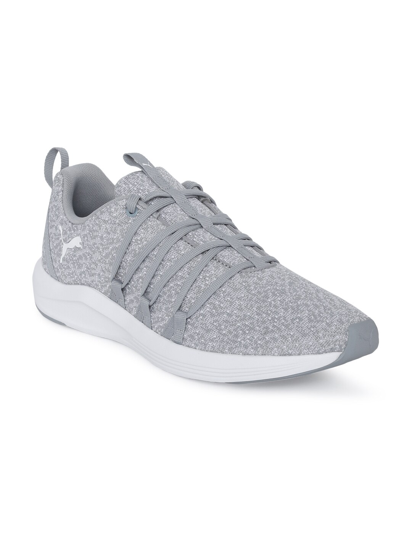 6396ea31bd Puma Women Grey Prowl Alt Knit Training or Gym Shoes