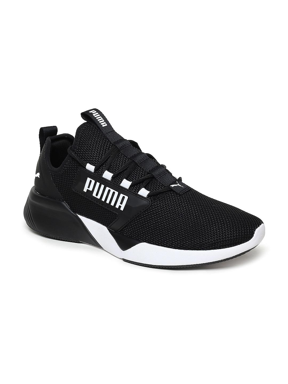 magasin en ligne 1d689 4efa9 Puma Men Black Retaliate Running Shoes