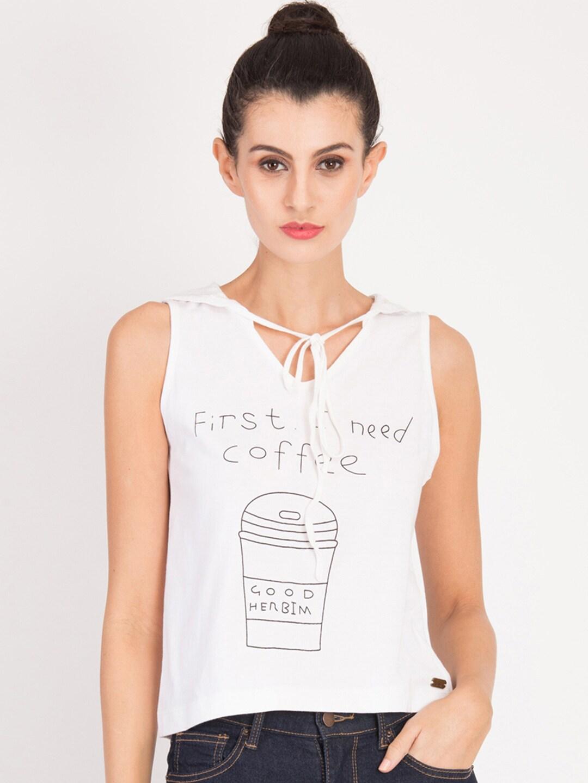 Women Sleeveless Tshirts - Buy Women Sleeveless Tshirts online in India 1566b64a4f00