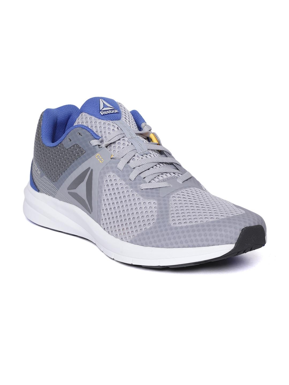 ed75eed86f8 Reebok Men Grey Sports Shoes - Buy Reebok Men Grey Sports Shoes online in  India