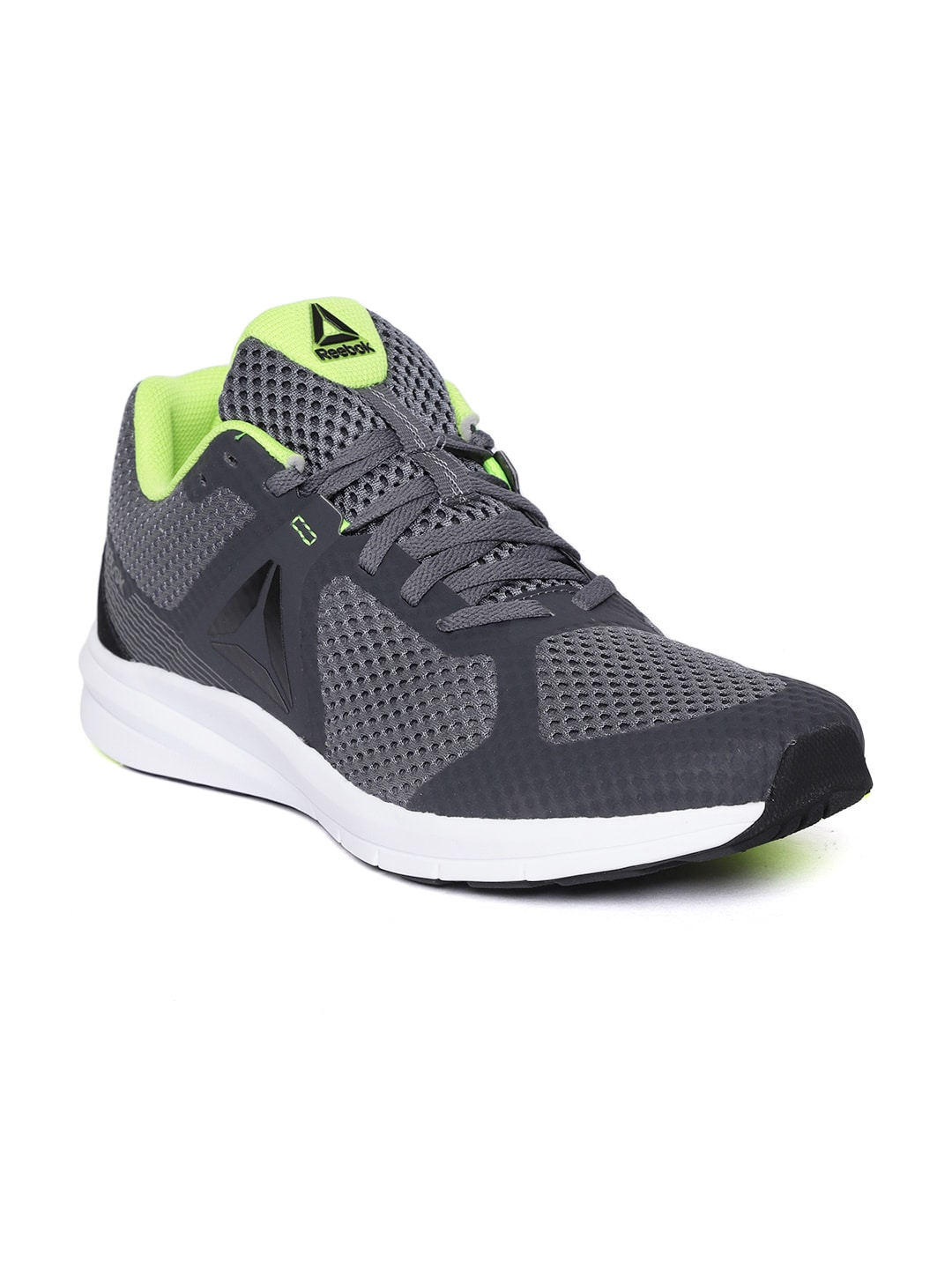e3fd56fa168e0e Reebok Men Charcoal Grey Endless Road Running Shoes