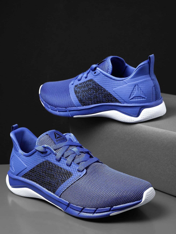 reputable site 83352 03772 Reebok Men Blue Sports Shoes - Buy Reebok Men Blue Sports Shoes online in  India