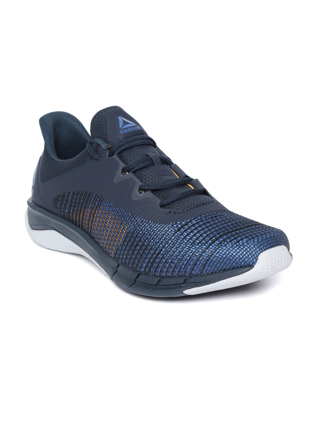 ad8efa57bf2 Reebok Navy Blue Blue Sports Shoes - Buy Reebok Navy Blue Blue Sports Shoes  online in India