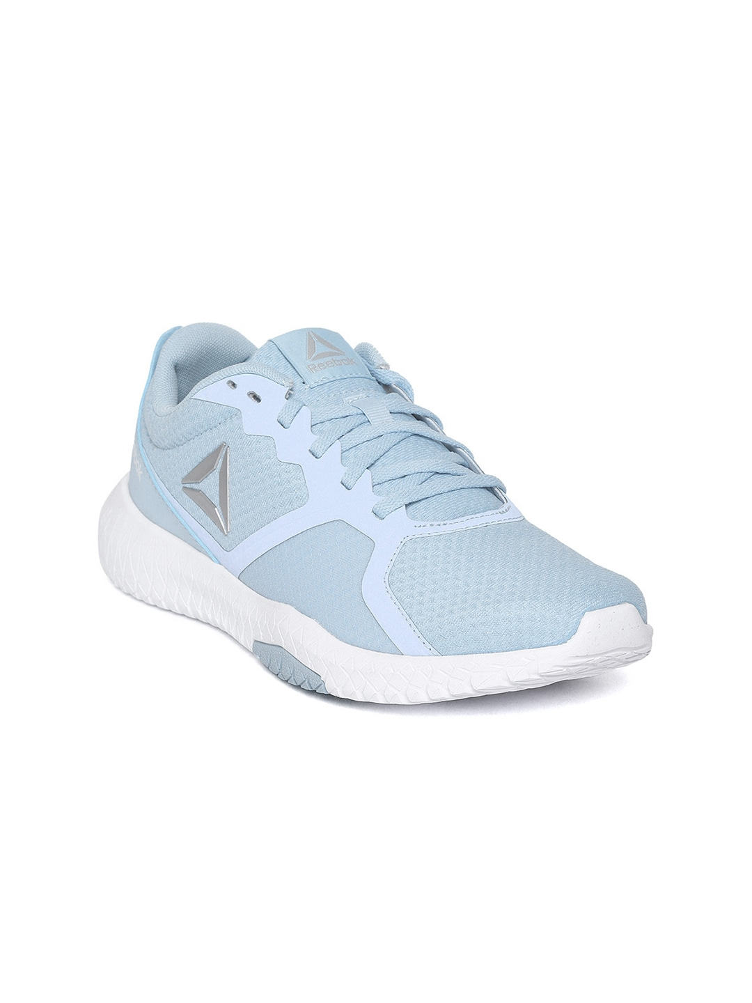 Flexagon Women Blue Training Force Shoes Reebok xsQrhtCd