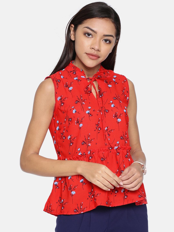 772dbe41beb0d0 Women s Sleeveless Tops - Buy Sleeveless Tops For Women Online - Myntra