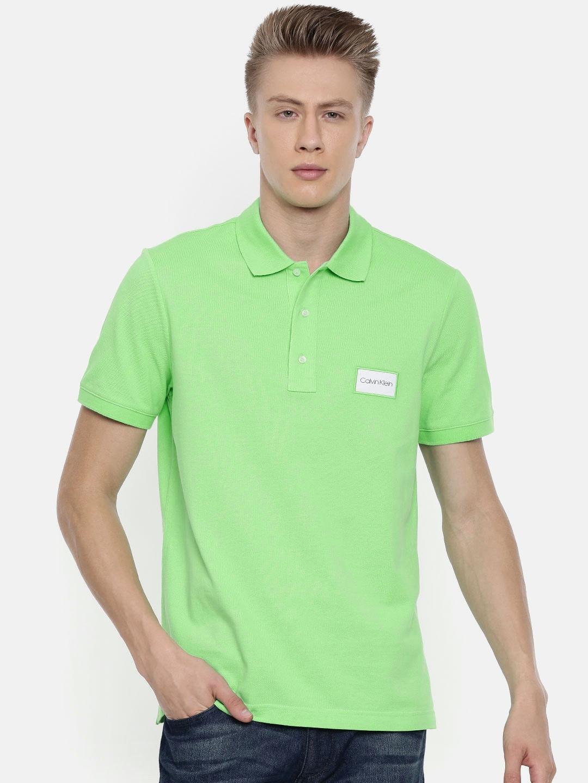 cc97b9a43cff9 Calvin Klein Jeans T Shirt Green - Gomes Weine AG