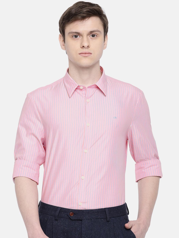 65c0fb21a16101 Stripe Shirt Men - Buy Stripe Shirt Men online in India