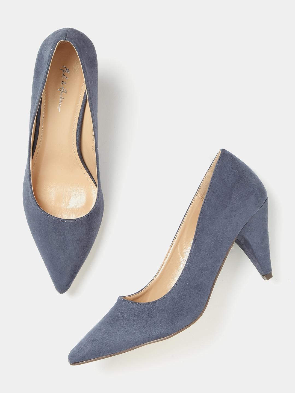 d8c15e9327edff Blue Heels - Buy Blue Heels Online in India