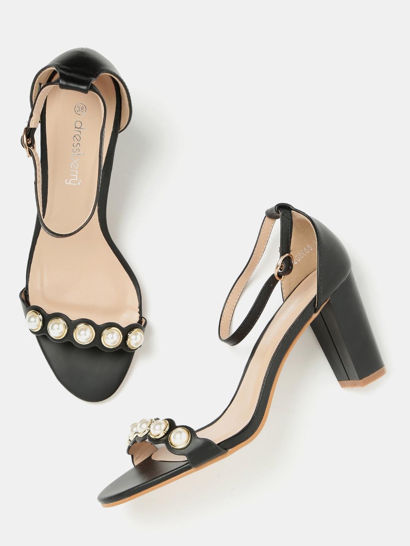 26b79574a3f8 Dressberry Black Heels - Buy Dressberry Black Heels online in India