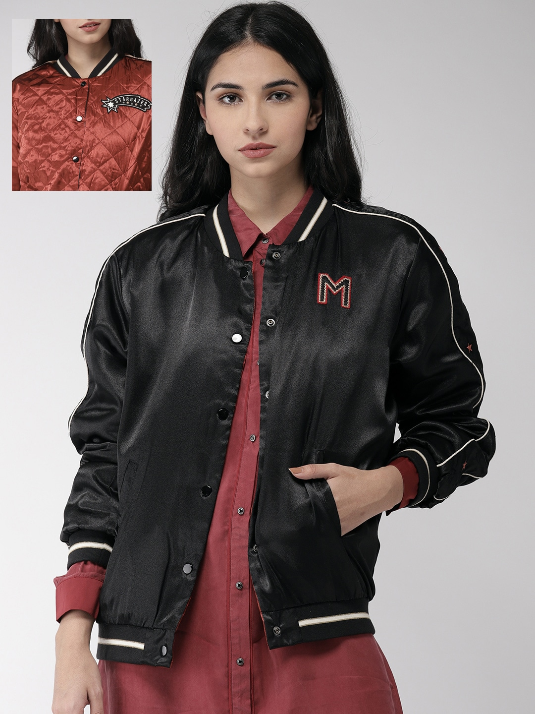 59681f193c4 Jackets for Women - Buy Casual Leather Jackets for Women Online