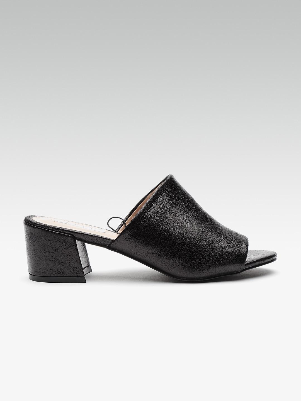 aa38b1fb42a Black Heels - Buy Black Heels Online in India