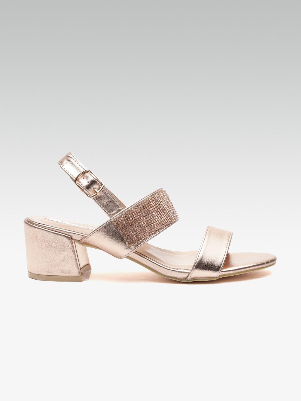 9a3d8f87f3d Rose Gold Heels - Buy Rose Gold Heels online in India