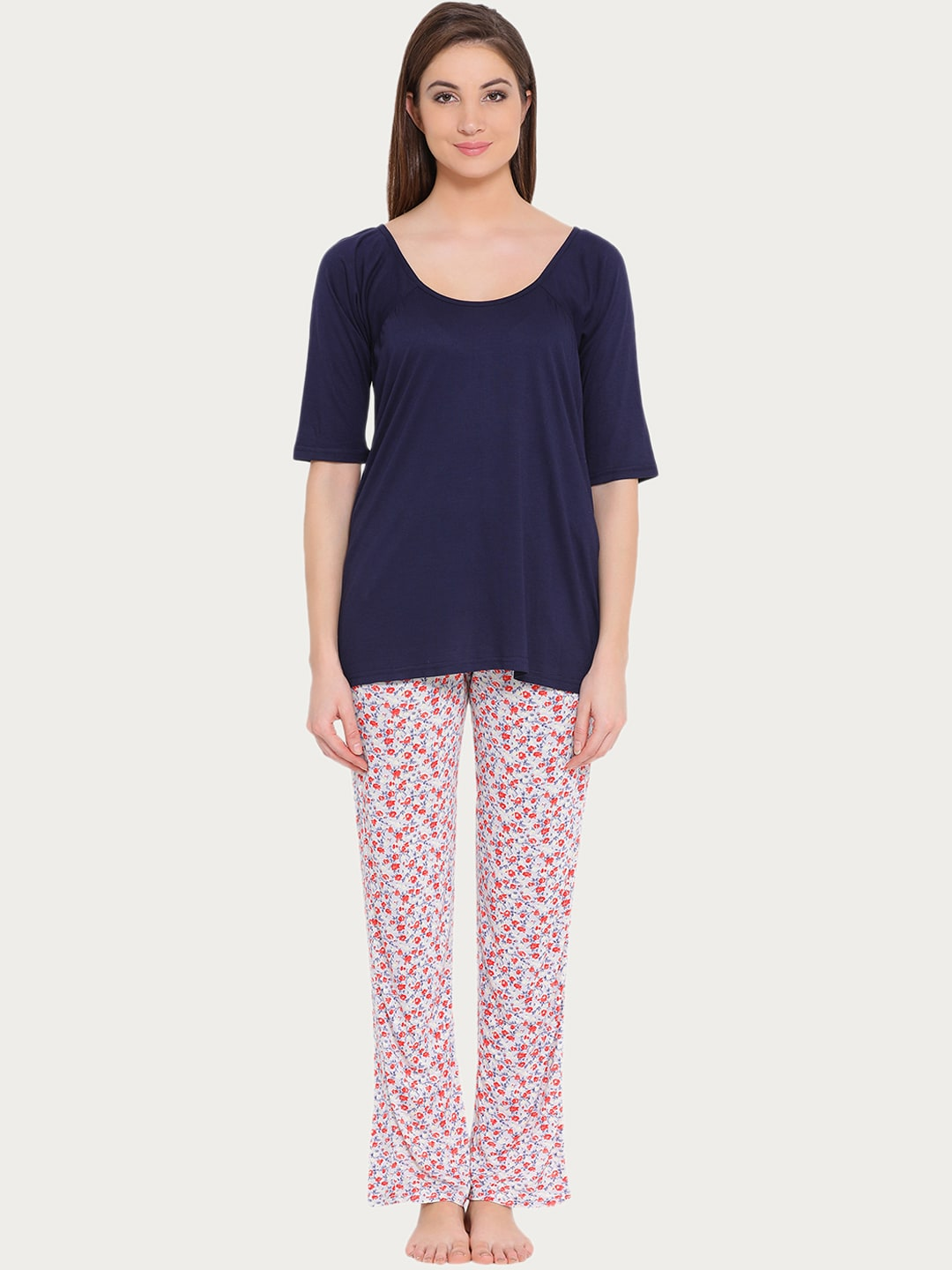Clovia Printed Loungewear And Nightwear - Buy Clovia Printed Loungewear And  Nightwear online in India dfa9acd29