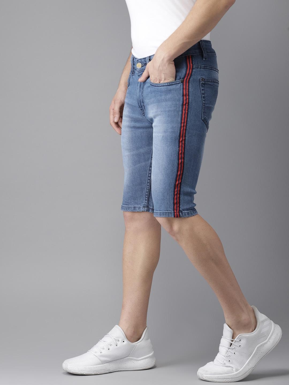 timeless design f7e41 afa4f Knee Length Shorts - Buy Knee Length Shorts Online in India
