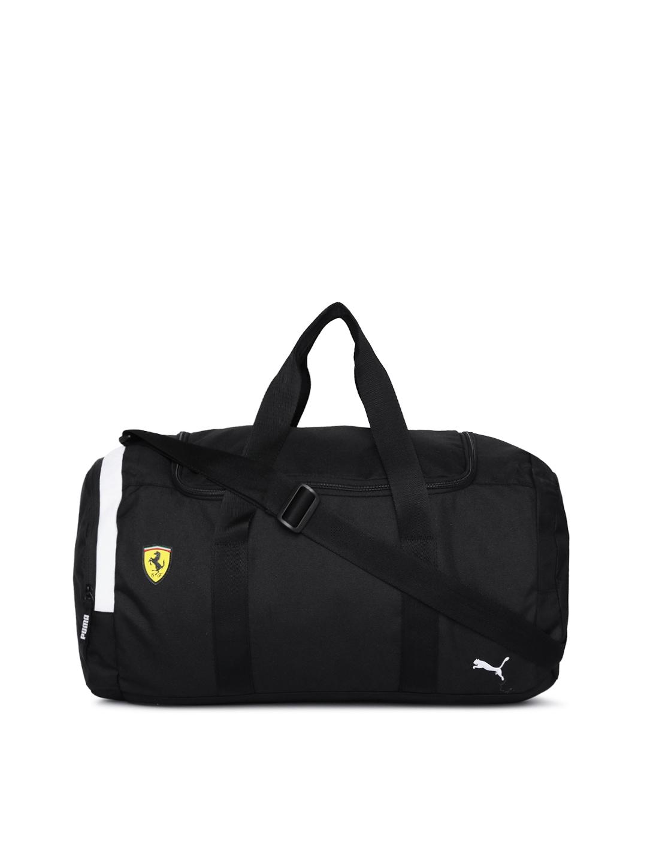 1d054625bd Puma Unisex Black SF Fanwear Duffel Bag