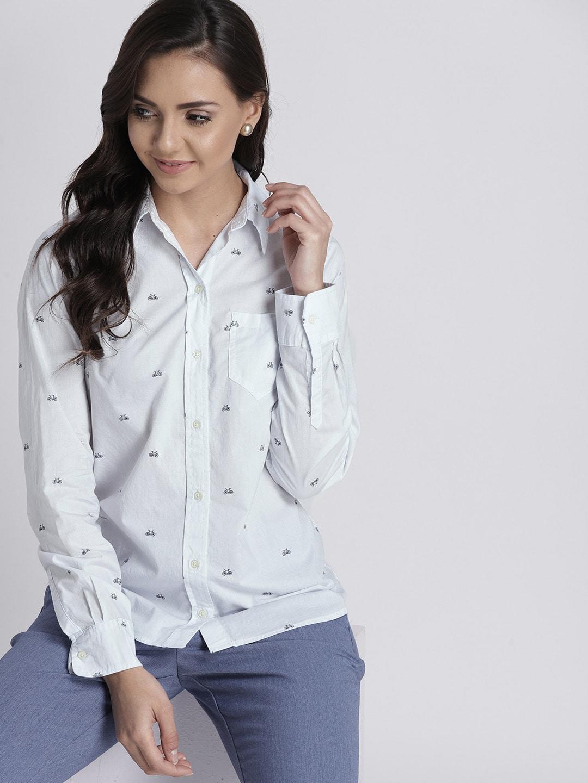b4b9bf0cd3026 Women Shirts - Buy Shirts for Women Online in India