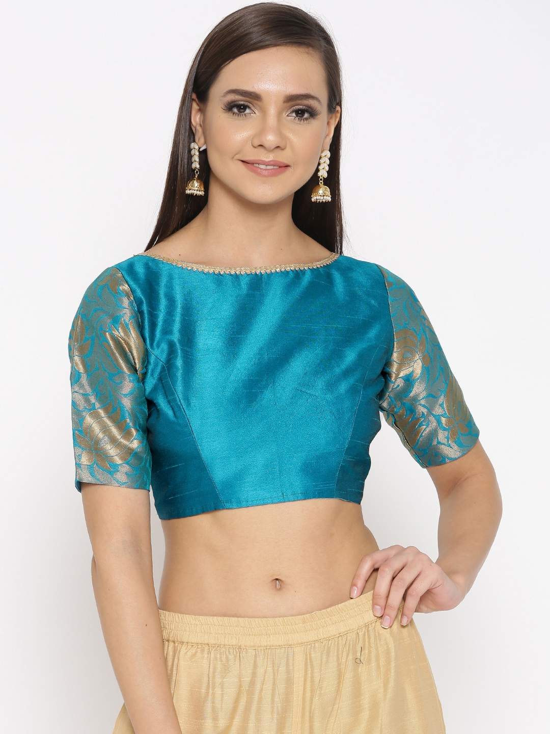 2adc67b7ae2be Blouses - Shop for Designer Blouse Online in India