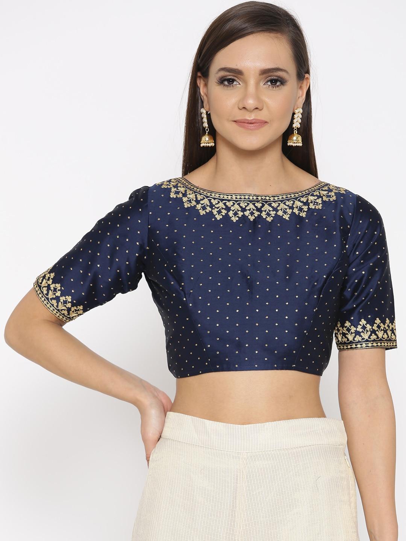 46b3bce2c8cbb6 Blouses - Shop for Designer Blouse Online in India