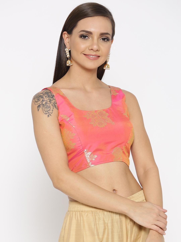 fb0d0f73cf3f7 Kaanchie Nanggia Sarees Saree Blouse - Buy Kaanchie Nanggia Sarees Saree Blouse  online in India