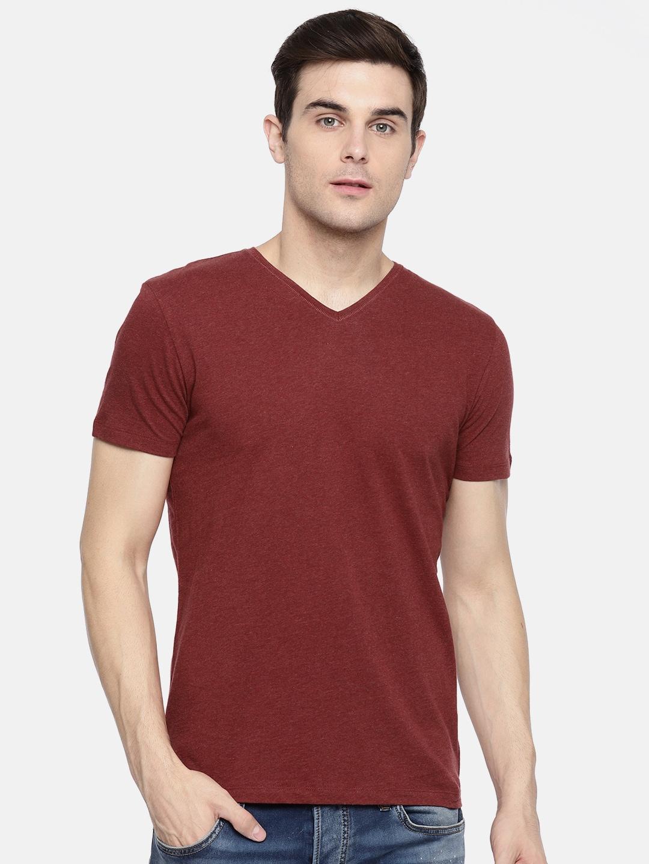 05536527dd4 V Neck Slim Fit Tshirts - Buy V Neck Slim Fit Tshirts online in India