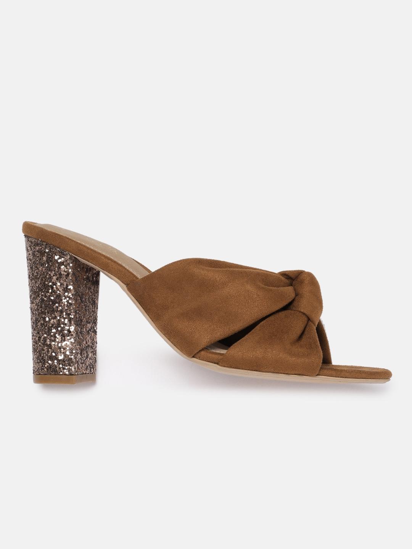 Catwalk Women Tan Brown Solid Sandals