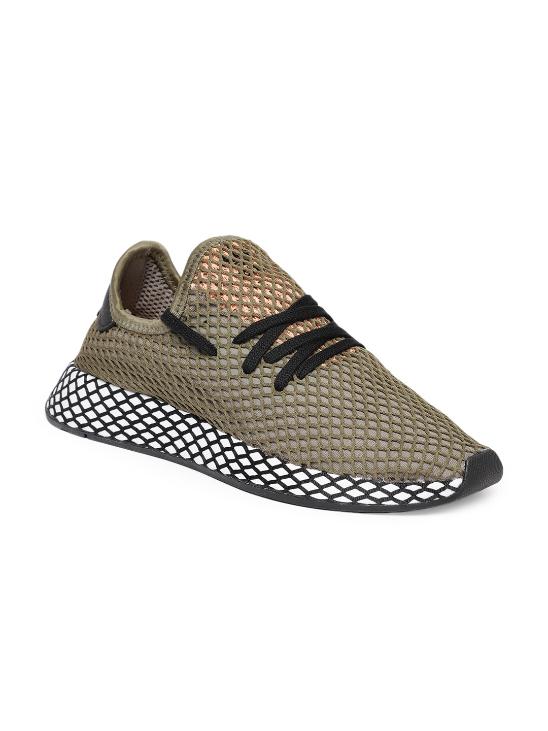 new arrivals 56c4c 86f96 Olive Green Men Casual Shoes - Buy Olive Green Men Casual Shoes online in  India