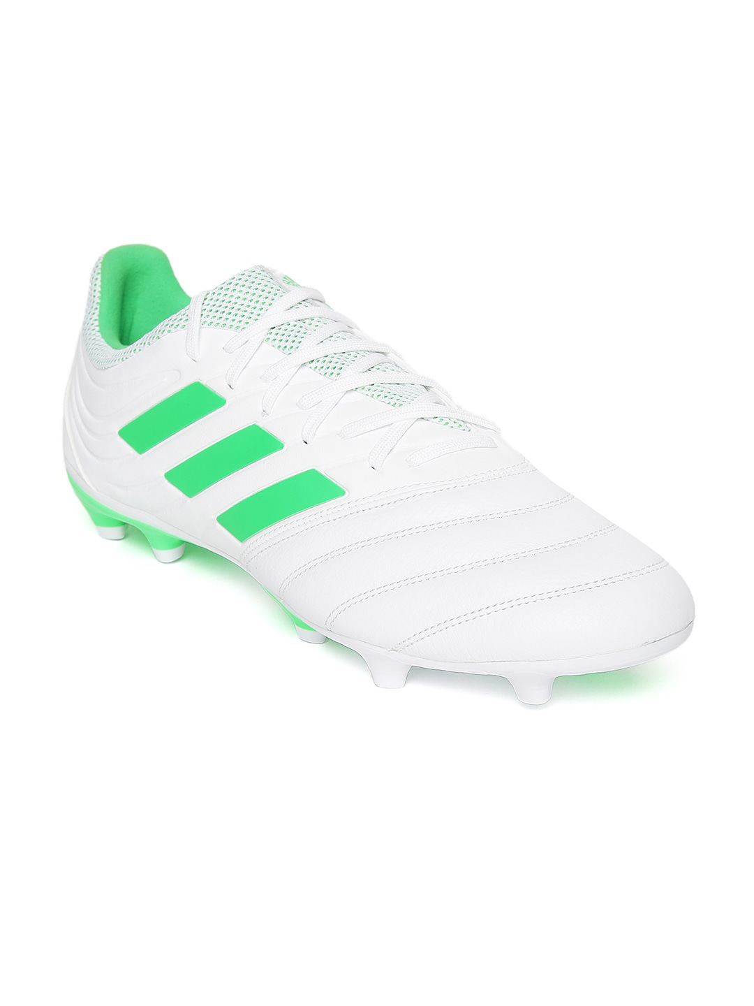 ADIDAS Men White Copa 19 3 Firm Ground Football Shoes