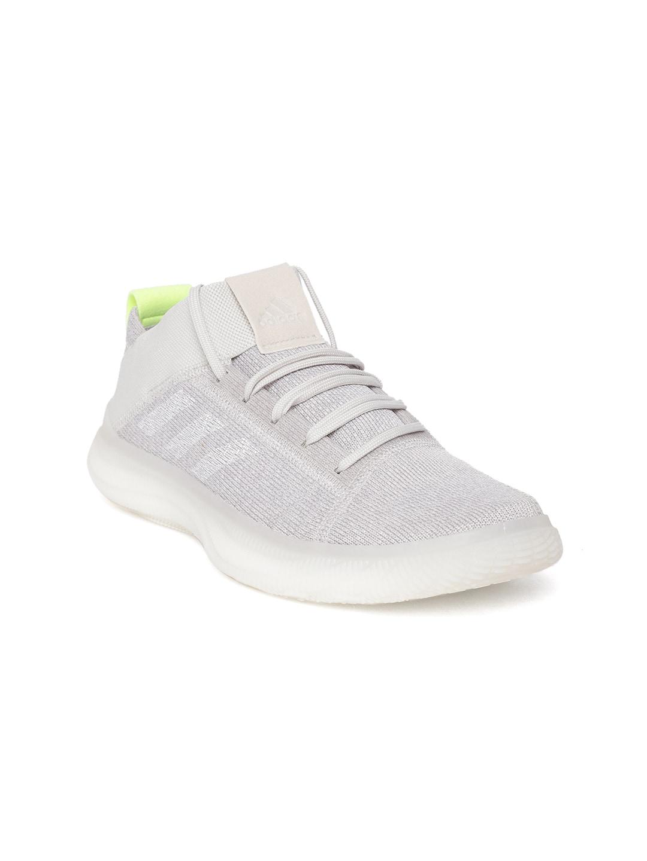 1165285305 ADIDAS Women White PUREBOOST TRAINER Sports Shoes