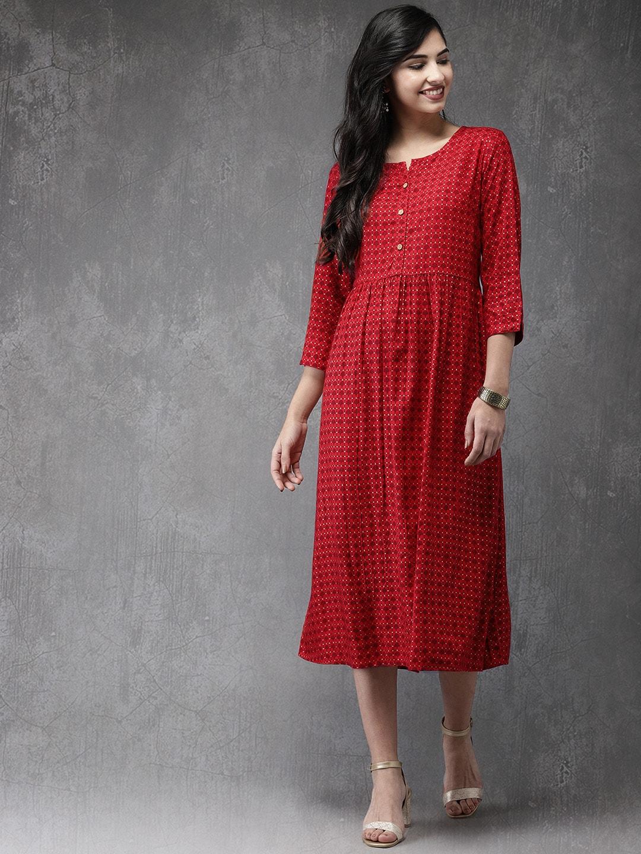 c4c80eee0ea Red Dress - Buy Trendy Red Colour Dresses Online in India