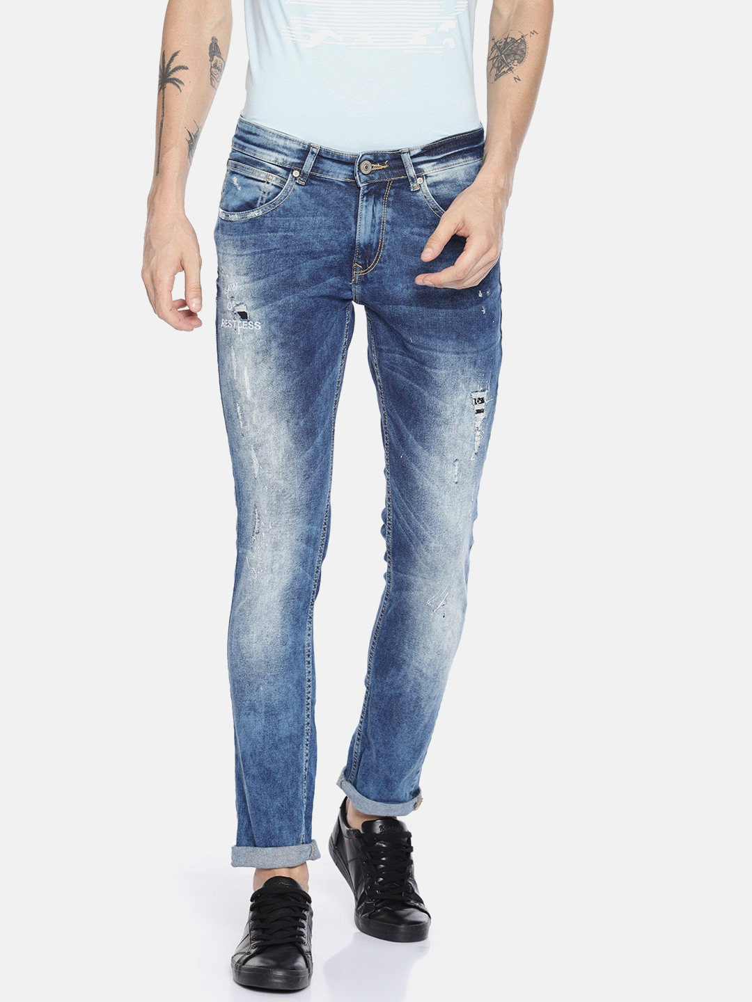 daee2cd88bc237 Jeans - Buy Jeans for Men, Women & Kids Online in India | Myntra