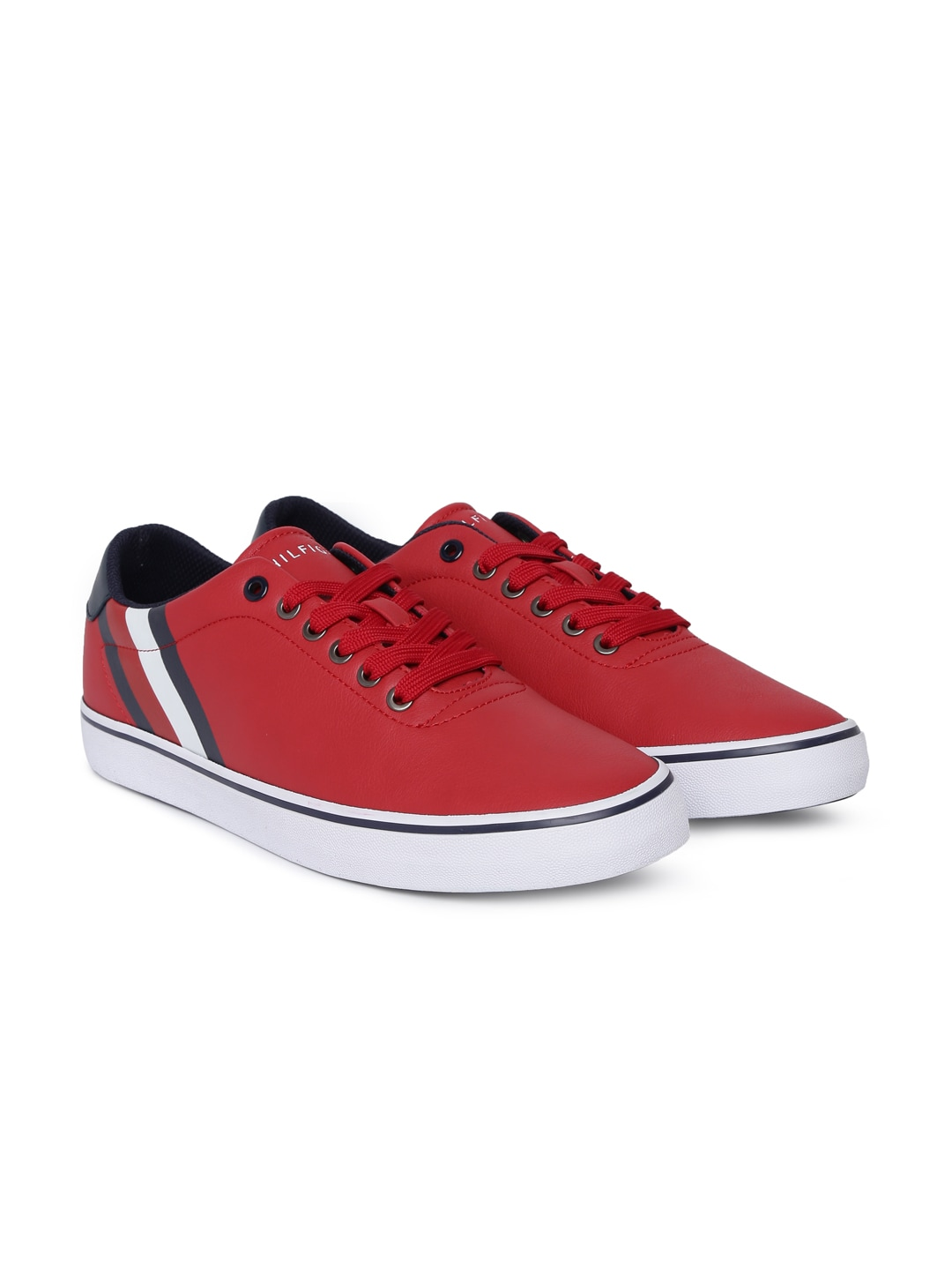 f531a6840997a9 Tommy Hilfiger Men Red Sneakers