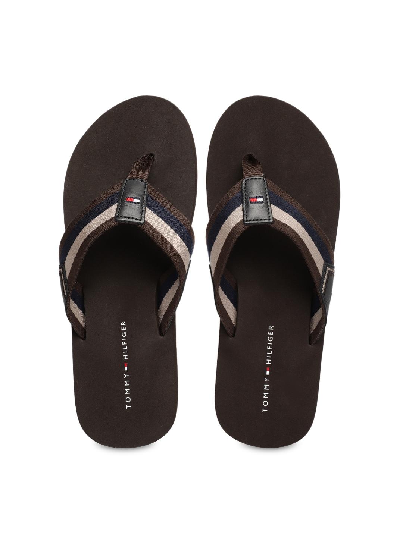9f0d5bd785fad5 Tommy Hilfiger Flip Flops For Men - Buy Tommy Hilfiger Flip Flops For Men  online in India