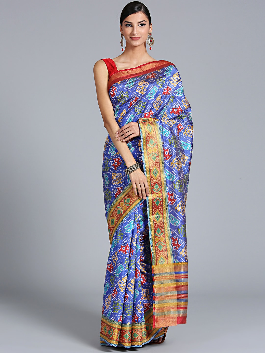 eb1f0588448 Pochampally Sarees - Buy Pochampally Saree Online at Best Price