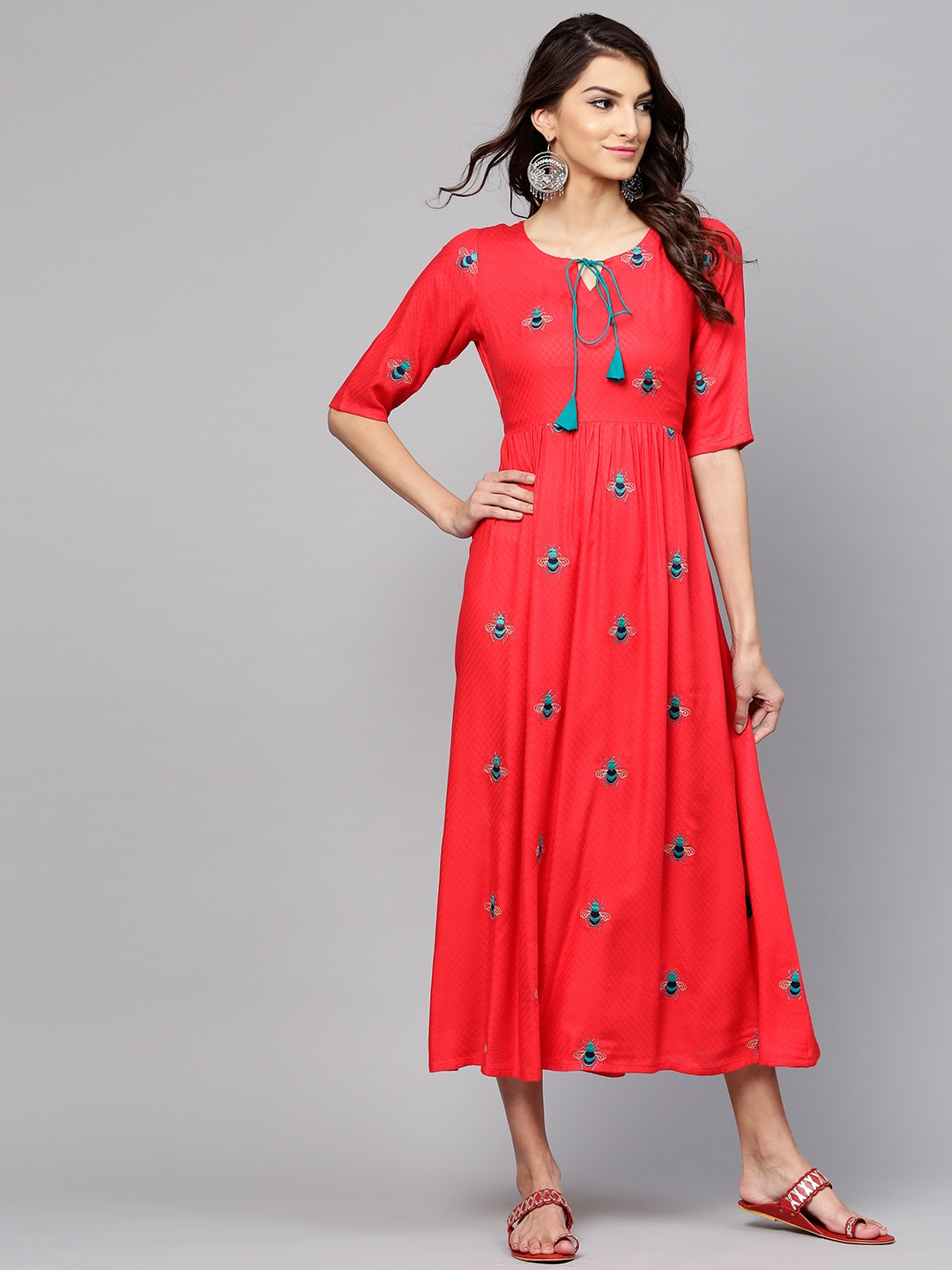 21960849e Red Dress - Buy Trendy Red Colour Dresses Online in India