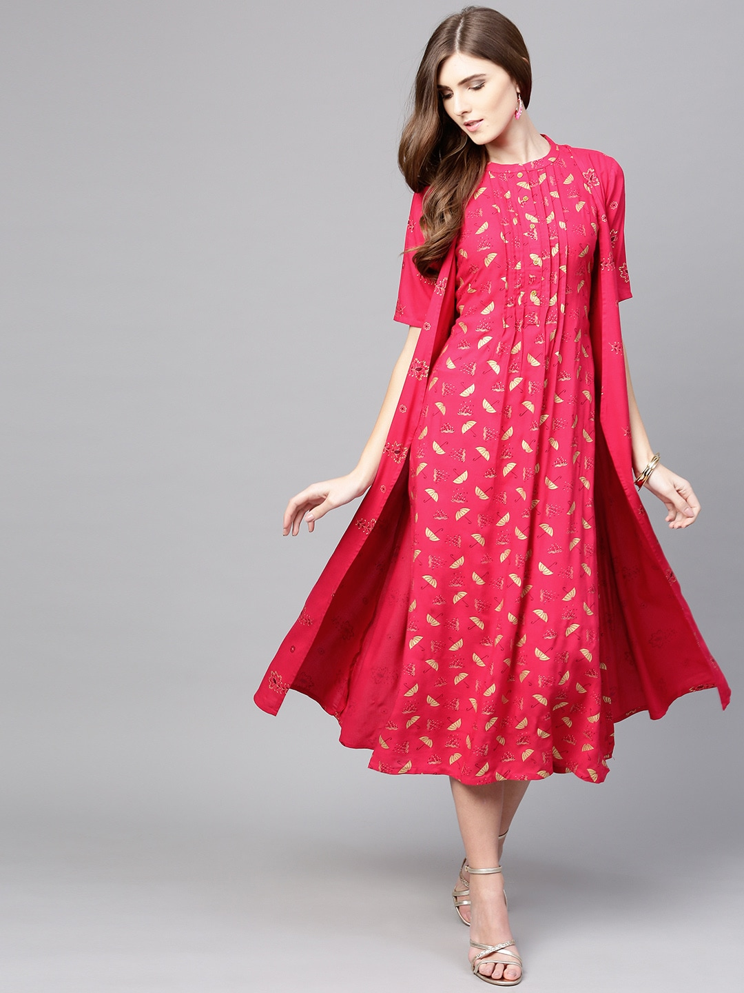 20cb8d6254 Pink Dress - Buy Pink Dress Online in India