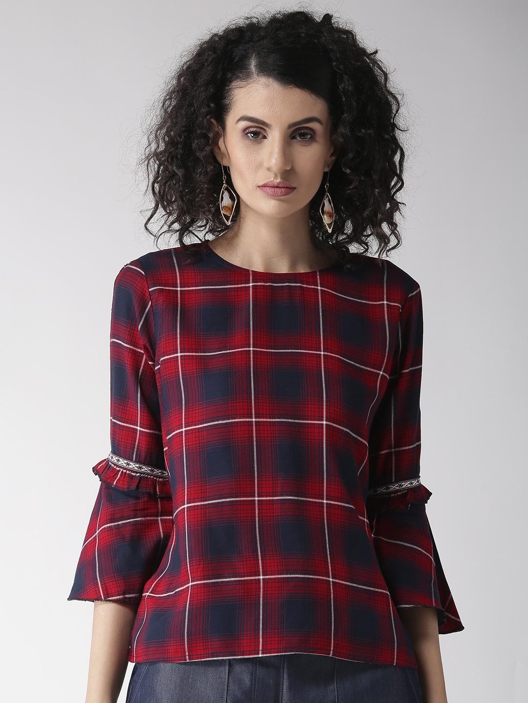 3f7149ec Ladies Tops - Buy Tops & T-shirts for Women Online | Myntra
