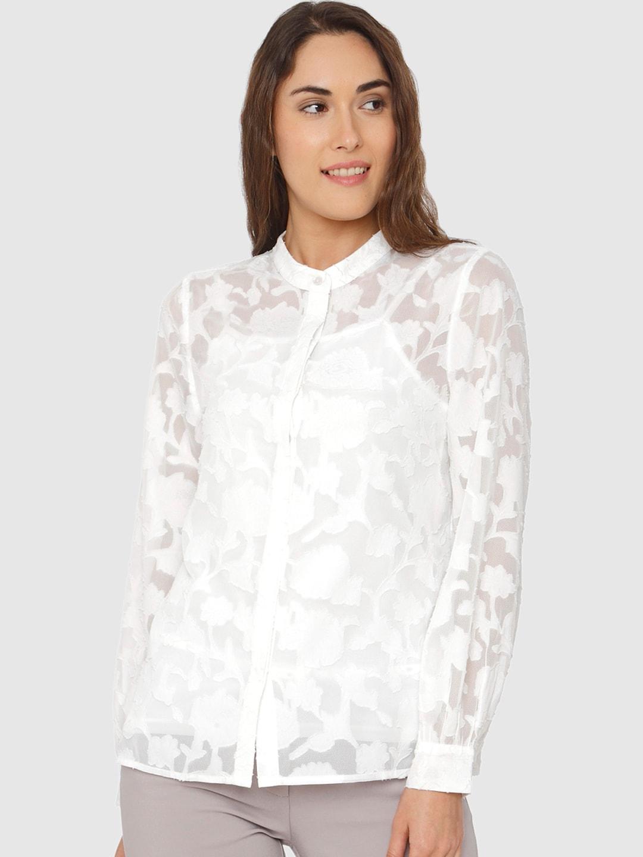 aa9e657bd7434 Women Shirts - Buy Shirts for Women Online in India