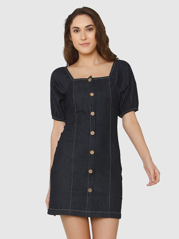 2375afb4313 Denim Dresses - Buy Denim Dresses Online in India