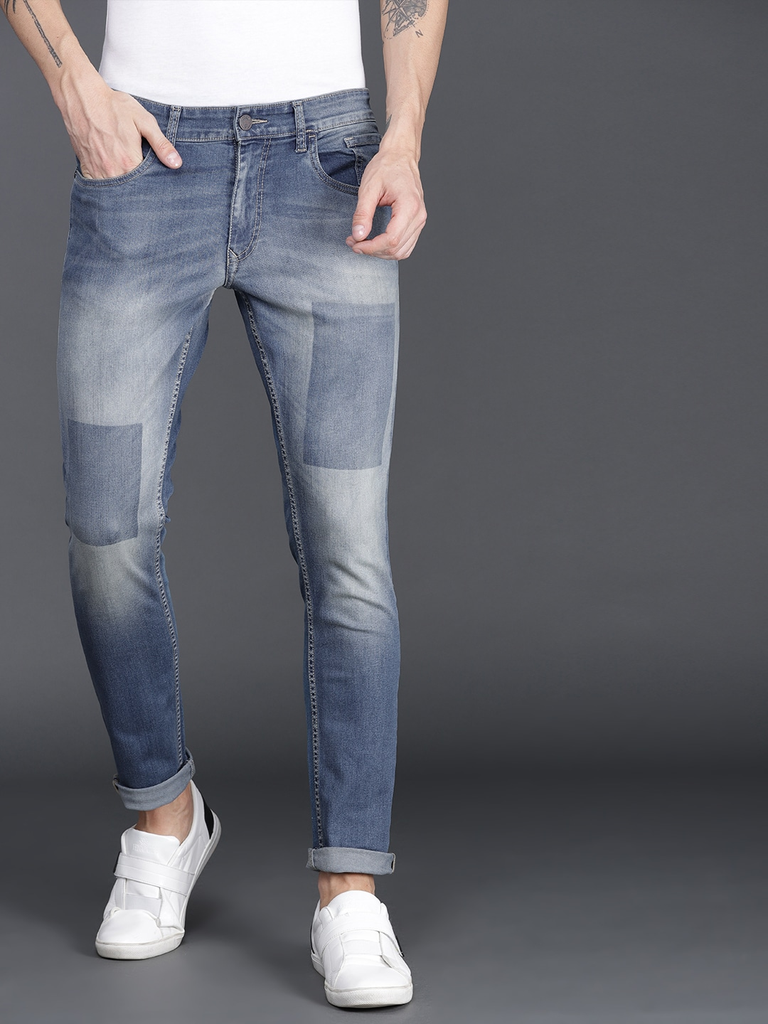 f9137c47a7689c Slim Fit Jeans - Buy Slim Jeans Online in India