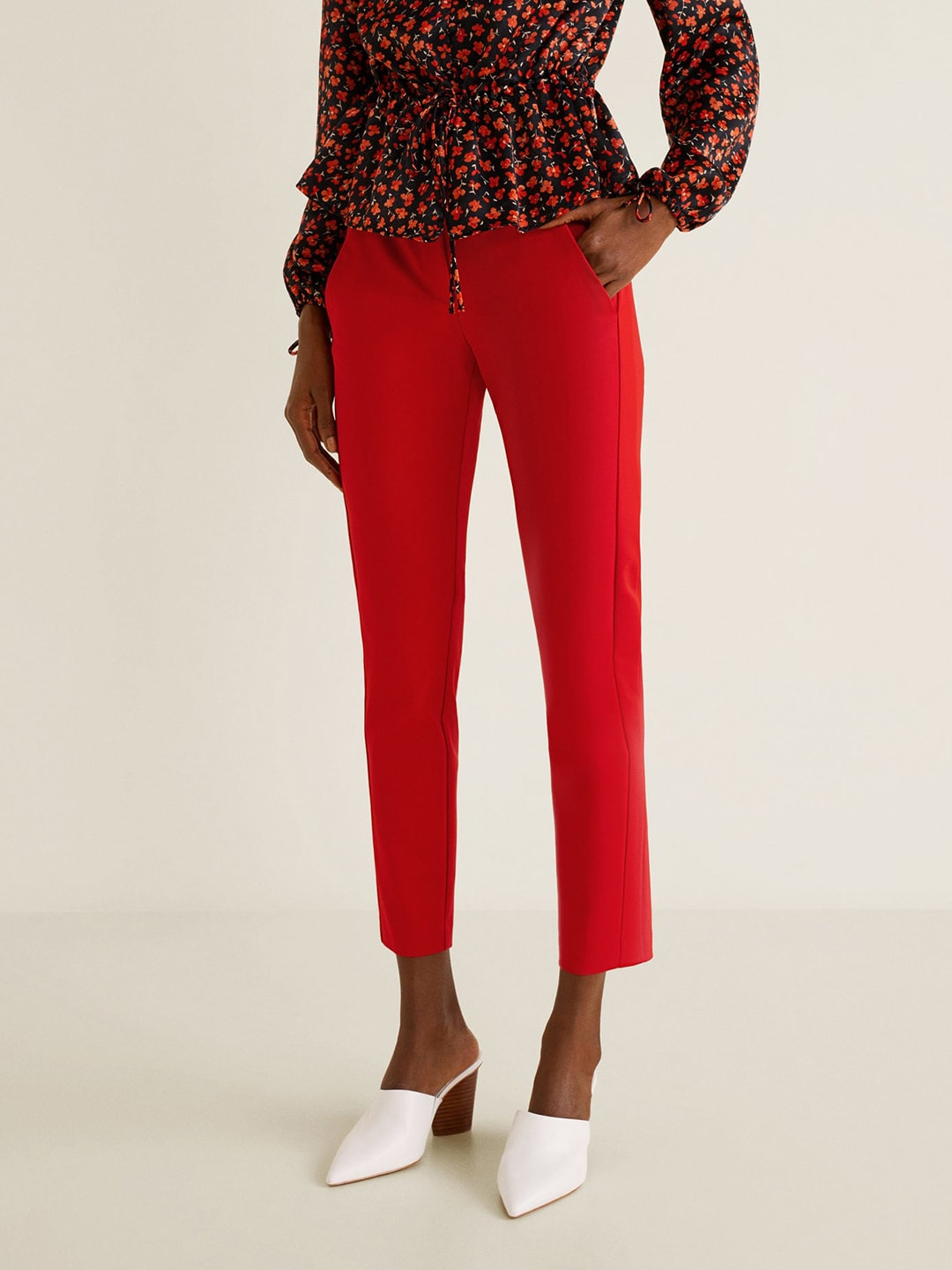 1a5647baf69 Flat Front Trousers - Buy Flat Front Trousers online in India