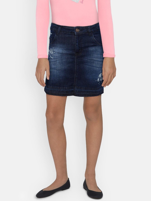 017944457a Denim Skirt Online India