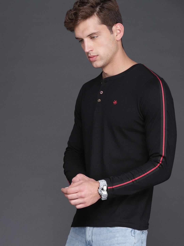 6e65ef2c968 Men Henley Tshirts - Buy Men Henley Tshirts online in India