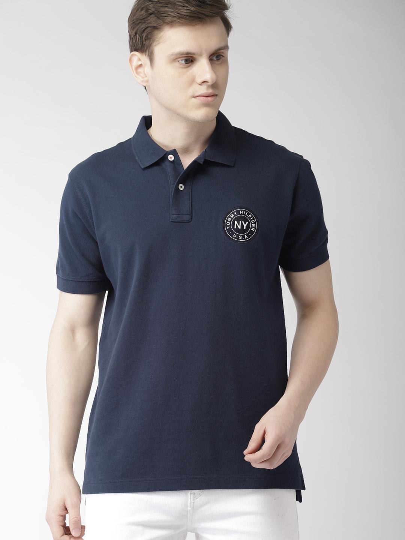 8a8db8a7e07 Tommy Hilfiger Tshirt Navy Blue Blue - Buy Tommy Hilfiger Tshirt Navy Blue  Blue online in India