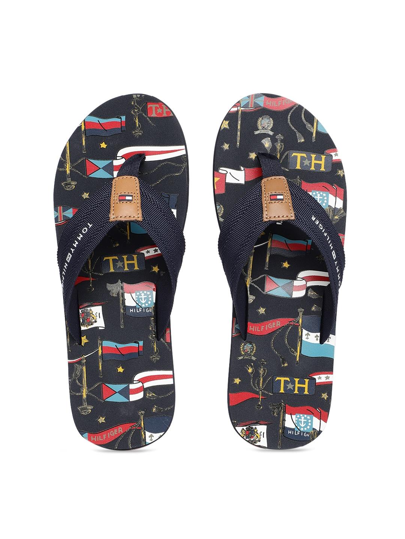 a84c7655a Tommy Hilfiger Flip Flops For Men - Buy Tommy Hilfiger Flip Flops For Men  online in India